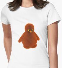 A sad penguin figure Women's Fitted T-Shirt