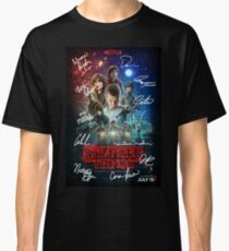 Signed Stranger Things Poster Classic T-Shirt