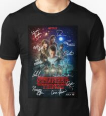 Signed Stranger Things Poster Unisex T-Shirt