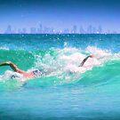 Coolangatta surf by Matt Mawson