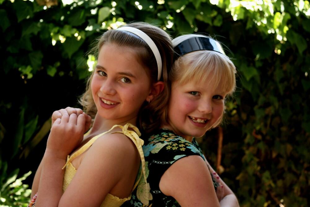 """Best Friends"" - Naomi & Jess by JulesVandermaat"