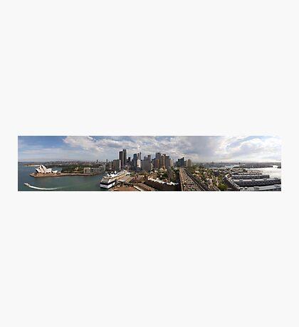 Sydney from the Bridge Photographic Print