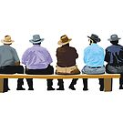 the spectators by Matt Mawson