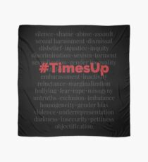 #TimesUp Above the Noise Graphic Scarf