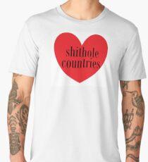 love shithole countries  Men's Premium T-Shirt