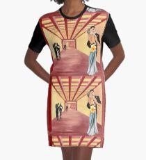 Never Ending Dance Graphic T-Shirt Dress