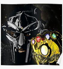 Infinite God Doom- Digital Painting  Poster