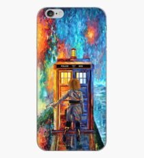 Beutiful Blondie Time traveller abstract iPhone Case