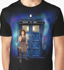 Beutiful Time traveller Graphic T-Shirt