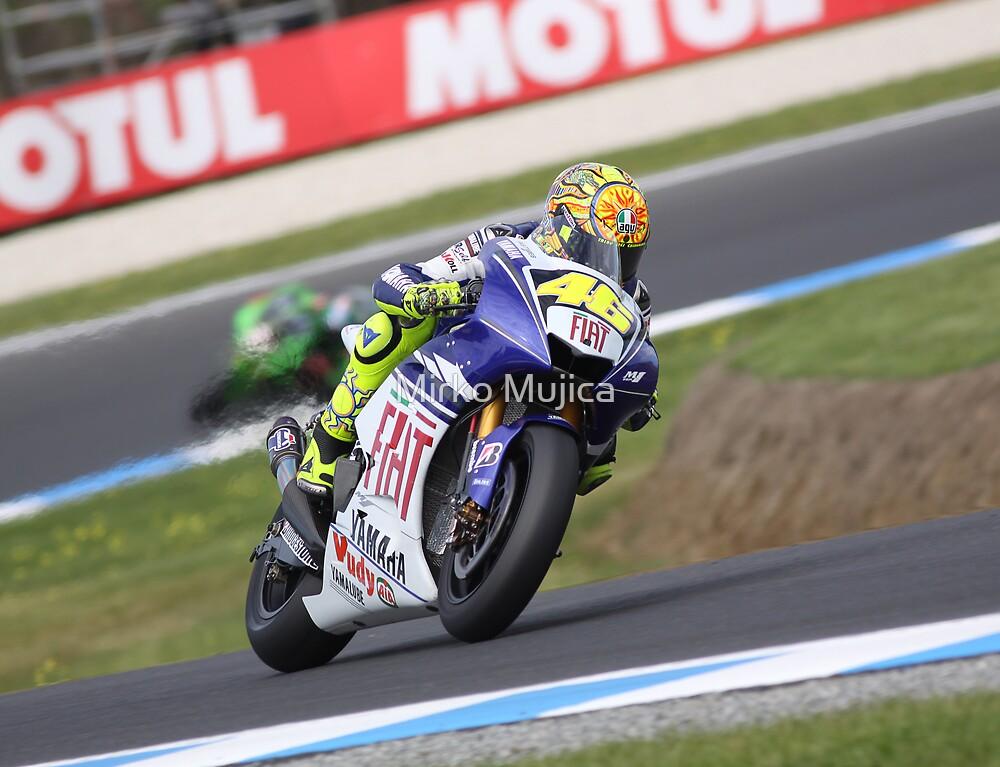 Rossi Journey to Champion 2008 by Mirko Mujica
