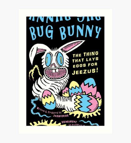 Bug Bunny Lámina artística