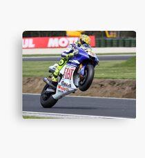 Valentino Rossi Mono 2008 Canvas Print
