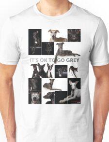 It's Ok To Go Grey Unisex T-Shirt