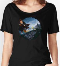 time traveller wizard Women's Relaxed Fit T-Shirt
