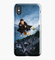 time traveller wizard iPhone Case/Skin