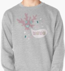 Lovely illustration of an amusing coral.  Pullover