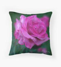 rose signed Throw Pillow