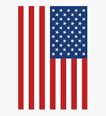 United States Flag Photographic Print