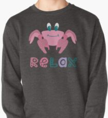 Lovely illustration of a happy crab. Pullover
