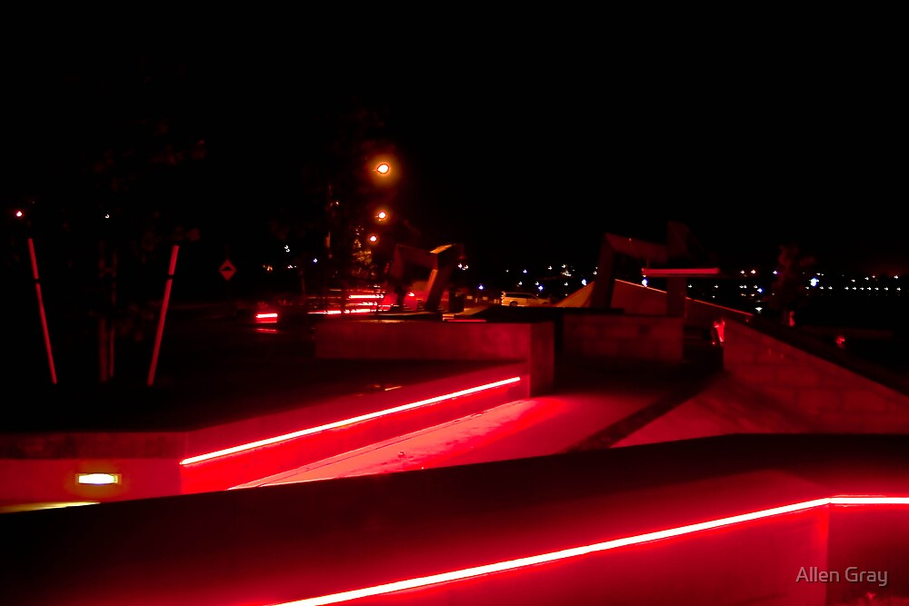 Geelong Foreshore Skate Park II by Allen Gray