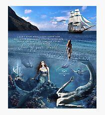 Mermaid Clary Photographic Print
