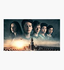 Maze Runner: The Death Cure Poster Photographic Print