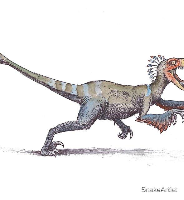 Velociraptor by SnakeArtist