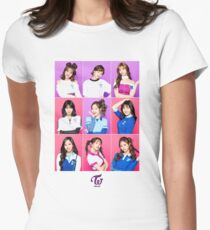 TWICE - One More Time - GROUP Women's Fitted T-Shirt