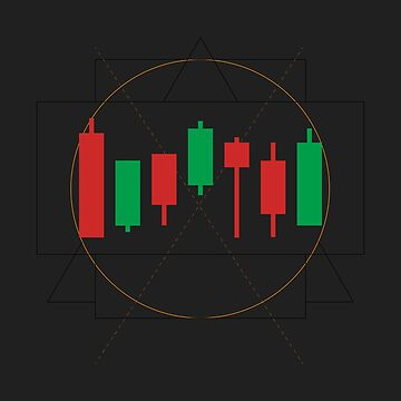 Abstract Gemetric FX Forex and Stock Market Trader Investment Gift Tshirt by drlayson