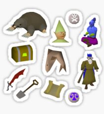 Oldschool Runescape Stickers Sticker