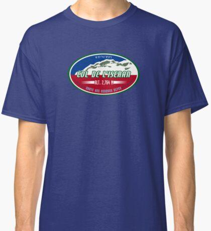 Route des Grandes Alpes France Motorcycle T-Shirt Sticker - Col de l'Iseran Classic T-Shirt