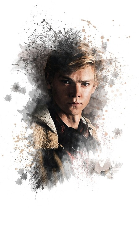 Newt The Maze Runner Fan Art