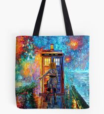Beutiful Blondie Time traveller abstract Tote Bag