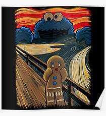 Cookie Munch The Scream Poster