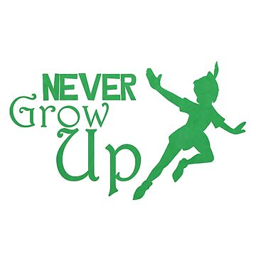 never grow up green by HOMEBACK