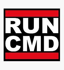 Run CMD Photographic Print