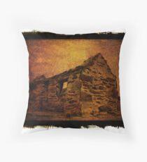 stone house Throw Pillow