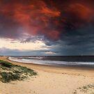 Nobbys Beach, Newcastle by Matt  Lauder