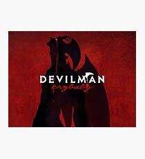 Devilman Crybaby anime manga Photographic Print