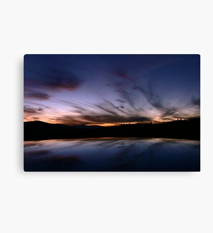 Tharwa Sunset Canvas Print
