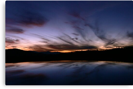 Tharwa Sunset by Stanton Hooley