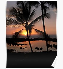 Kona Sunset Poster