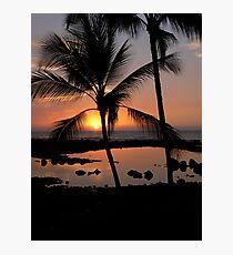 Kona Sunset Photographic Print