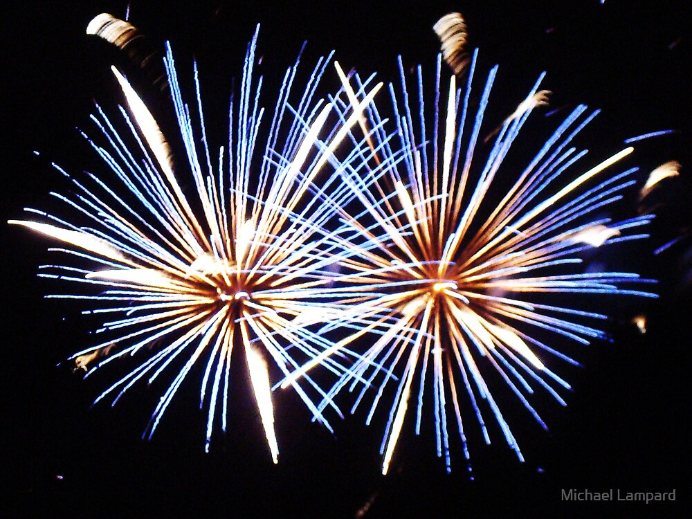 Fireworks I by Michael Lampard