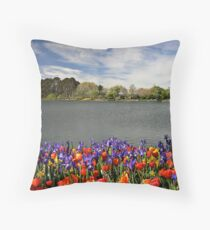 Floriade Throw Pillow