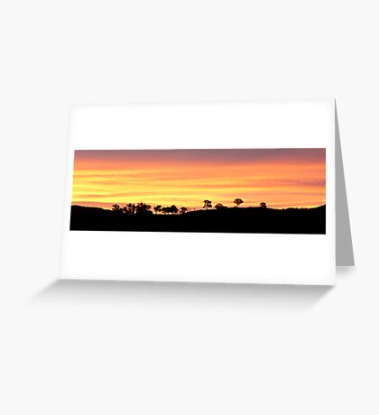 Painter's Canvas Greeting Card