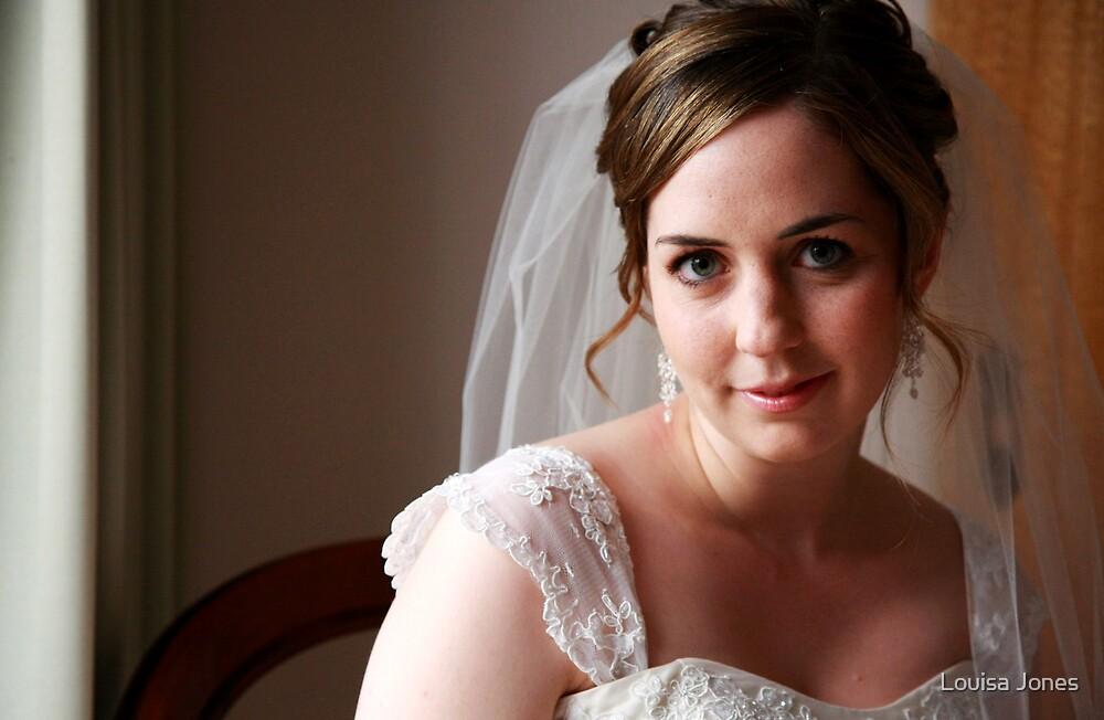 Portrait of A Bride by Louisa Jones