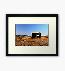 Rusted Tractor Framed Print