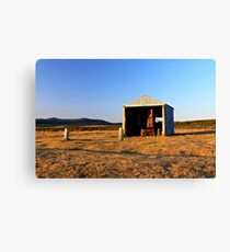 Rusted Tractor Canvas Print