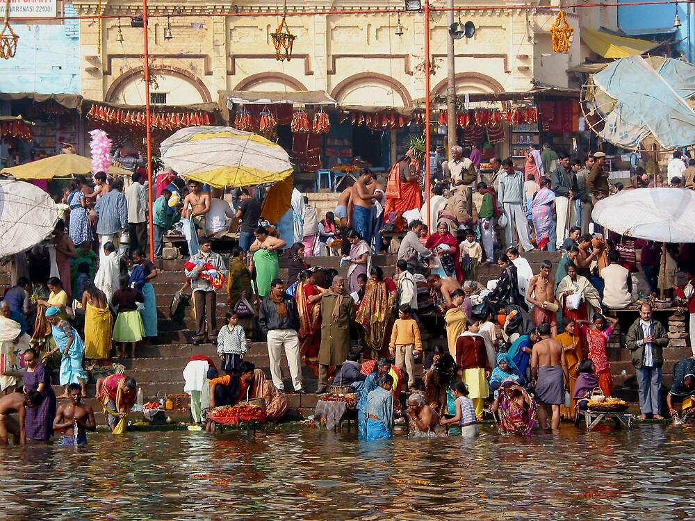 Varanasi by Jeff Barnard